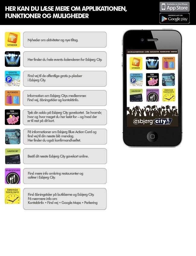 Esbjerg City app