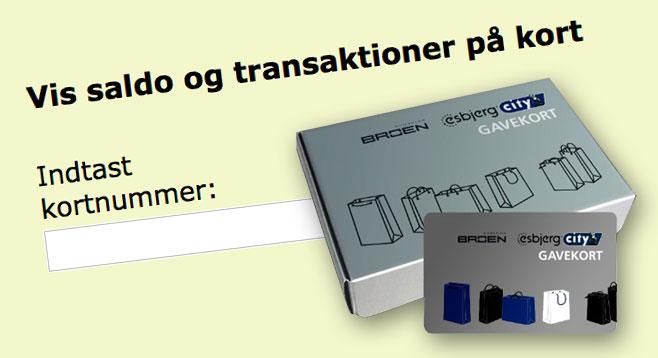 Esbjerg City gavekort